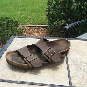 Birkenstock Brown Men's Leather Sandals Size 11